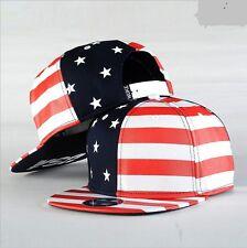 NEW Fashion Men's Snapback Hats US Flag Hip Hop adjustable bboy Baseball Cap
