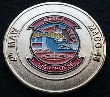 RARE USMC 4th MAW MASS-6 MACG-48 DASC Westover Marine Corps OIF Challenge Coin