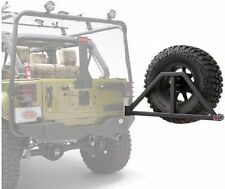 Body Armor 5294 4x4 Black Steel Swing Arm Spare Tire Carrier for Jeep Wrangler