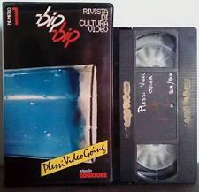 VHS Ita Videorivista BIP BIP Rivista Di Cultura Video n.1 ex nolo no dvd(VHS11)