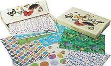 Carta regalo stampata - Scatola da 100 fogli stampati con disegni assortiti
