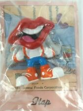 "Vintage Tang Trio Lips Mouth Hap Hardees Toy 2"" Figurine Applause 1989"