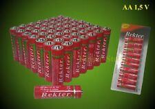 AA Batterie 50-Stück Neu im Blister R6 Mignon,Sehr Günstig,Zink Kohle 06/2019