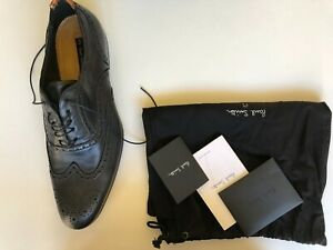 New Paul Smith Men's Letter miller shoes Size UK 9 US 10 Made in Italy RRP$499