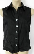 Marks and Spencer Women's Cotton Blend Sleeveless Tops & Shirts