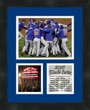 Chicago Cubs 2016 World Series Champions Photo Framed Photo Collage Cubs 11X14