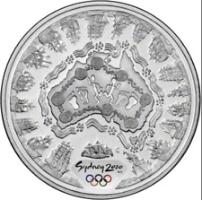 Sydney 2000 Olympic Coin Collection / $5 Silver Coin. Australia