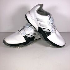 Adidas Unisex Kids Adipower BOA Golf Shoes White Low Top Pull Cord F33535 4