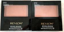 (2) Revlon Compact Bronzer New & Sealed 012 - Bronzilla 0.17 oz each