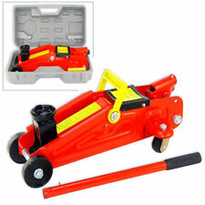 2 Ton Compact Portable Floor Jack - Auto Car Garage Hydraulic Lift with Case