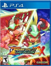 Mega Man Zero / ZX Legacy Collection PS4 US Version *New*