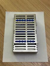 Hu-Friedy Signature 10 Instrument Cassette - Blue