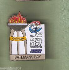 BATEMANS  BAY  2000 OLYMPIC AMP TORCH RELAY PIN