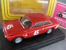 1/43 progetto 045 Alfa Romeo Giulia GTA spa 1967 rojo