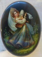 Russian Mother Of Pearl Lacquer Box - Highest Quality