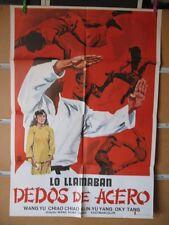 987      LO LLAMABAN DEDOS DE ACERO. WANG YU, CHIAO CHIAO,