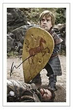 PETER DINKLAGE GAME OF THRONES SIGNED PHOTO PRINT AUTOGRAPH TYRION LANNISTER