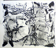 Jean Paul Riopelle Original Limited Edition Lithograph from One Cent Life 1964