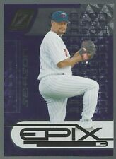 Johan Santana 2005 Zenith Epix Purple Season 132/150 Card# E-3