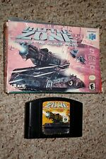 Battlezone: Rise of the Black Dogs (Nintendo 64, 2000) with Box GOOD n64