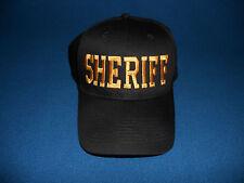 SHERIFF Hat  Deputy  Law Enforcement  Security