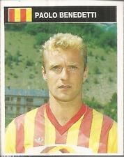 [AA] FIGURINA CAMPIONI & CAMPIONATO 1990/91-LECCE-BENEDETTI