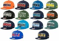 New NFL Retro Sting Snapback 9FIFTY Cap Hat Flat Brim