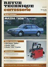 (6B)REVUE TECHNIQUE CARROSSERIE MAZDA 626