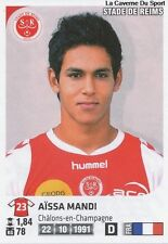 N°321 AISSA MANDI # STADE DE REIMS STICKER PANINI FOOT 2013