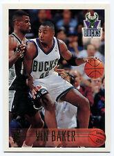 1996-97 Topps VIN BAKER Rare Dealer Promo Milwaukee Bucks Tough SP Sample