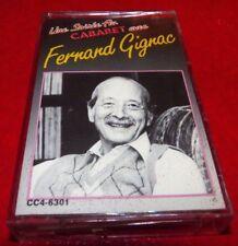 Cassette Audio Une Soirée au Cabaret avec Fernand Gignac !