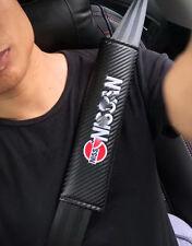 2x AUTO ACCESSORIES Car Seat Belt Soft Shoulder Pad Decompress For Nissan