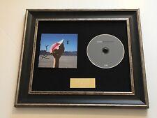 SIGNED/AUTOGRAPHED THE KILLERS - WONDERFUL WONDERFUL FRAMED CD PRESENTATION.