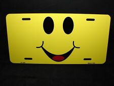Oops Smile Smiley Face Officially Licensed Metal Vanity Tag License Plate