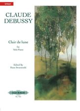 DEBUSSY - Clair de Lune Urtext Peters Edition Piano Book *NEW* Sheet Music