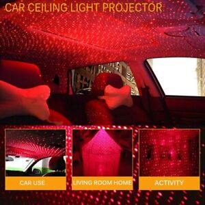 USB Star Projector Night Light Adjustable Romantic Galaxy Flexible Interior Car