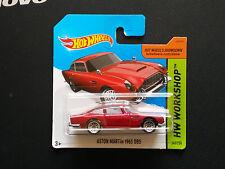 Hot Wheels ASTON MARTIN 1963 DB5 rouge HW 2015  SC - K339