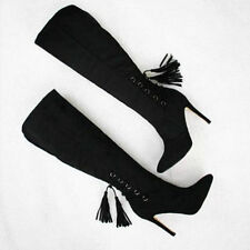 Lace-up Stiletto Standard (B) Unbranded Heels for Women