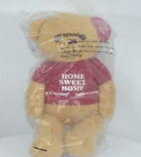 Habitat for Humanity SAWYER Bear Tan Brown Home Sweet Home Teddy Plush Toy 12""