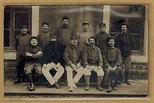 Cpa Militaria Carte Photo régiment groupe de militaires m0277