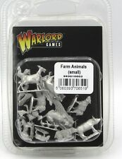 Warlord Games 993010002 Farm Animals (Small) Livestock Pets Cat Dog Sheep Pigs