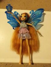 Rare Poupée Winx Flying Pixie Enchantix Bloom incomplète, bel état.