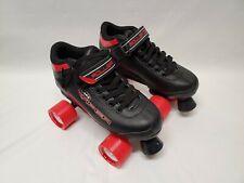 M4 Viper Speed Roller Derby RD Mens Size 5 Quad Skates Black Red Skating