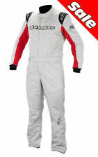 Alpinestars Nomex Racing Suit  GP Start   Large  Size 58 Silver/Red  NEW