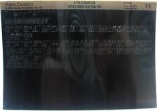 Honda VTX1300S 2003 - 2005 Parts List Microfiche h378