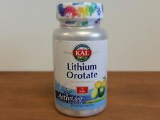 KAL Lithium Orotate 5 mg 90 ActivMelts Tablets  Lithium