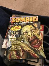 Zombie Collection Dvd 5 Films Terror Creatures Living Dead Watched Once Like New