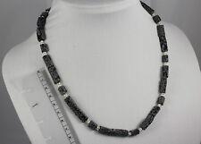 Schneeflocken-Obsidian in ungewöhnlicher Form, Länge: 51,5 cm