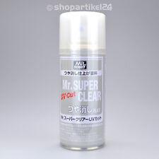 (7,93€/100ml) Mr. SUPER CLEAR KLARLACK Spray - FLAT (UV-CUT) - Mr.Hobby B-523