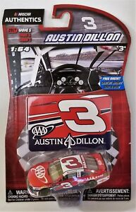 2017 Wave 5 NASCAR Authenics #3 Austin Dillon 1:64 Scale Die Cast Chevy SS AAA